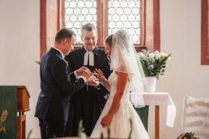 Ringübergabe Hochzeit Fotografie