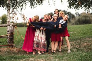Gruppenfoto Hochzeit Fotograf Chemnitz